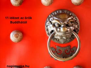 11 időtlen idézet az örök Buddhától